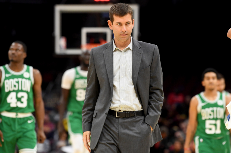 Celtics' Brad Stevens on 76ers: 'I Don't Know If There's a More Talented Team'