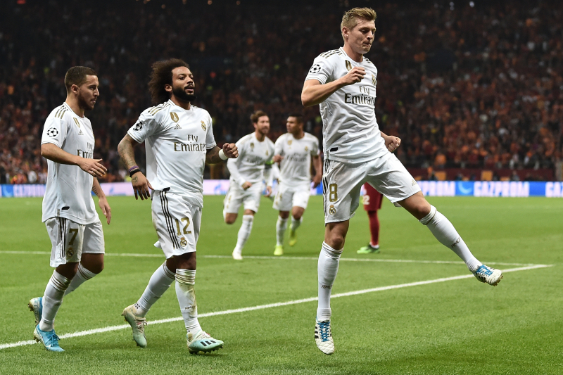 Toni Kroos, Real Madrid Fend off Galatasaray 1-0 to Secure UCL Group Stage Win