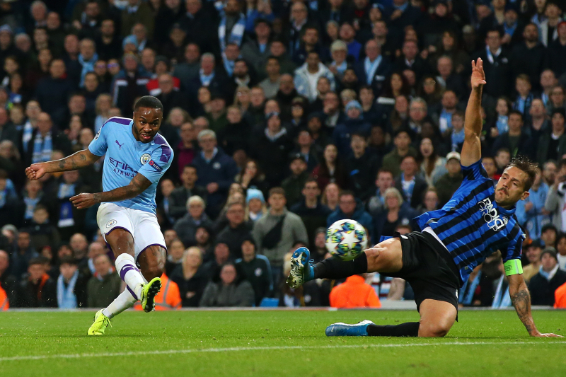 Raheem Sterling's Hat-Trick Leads Manchester City Past Atalanta 5-1 in UCL