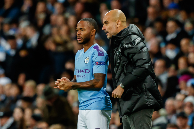 Pep Guardiola Praises 'Incredible' Raheem Sterling After UCL Atalanta Hat-Trick