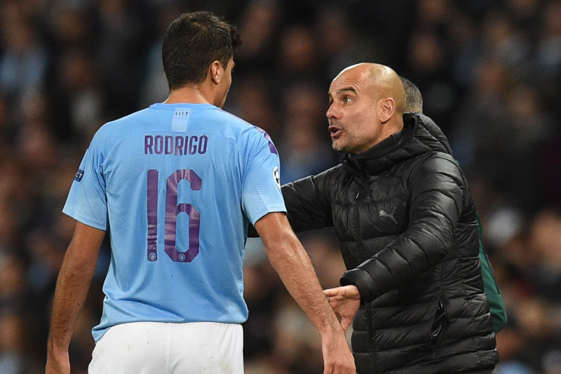 Pep Guardiola: Rodrigo Set to Miss '1 Month' If He Has Torn His Hamstring