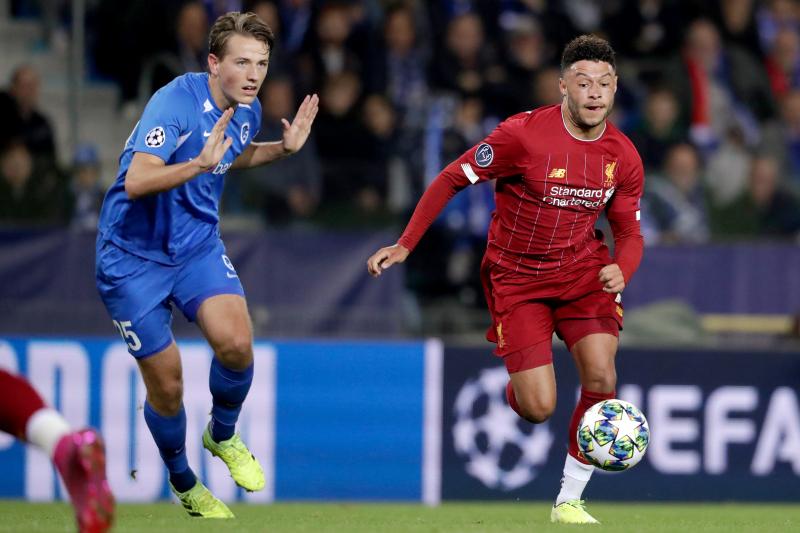Alex Oxlade-Chamberlain's 2 Goals Lift Liverpool Past Racing Genk in UCL