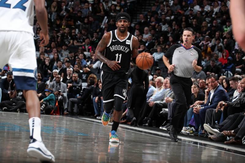 Kyrie Irving Drops 50 In Debut But Nets Lose To Timberwolves In