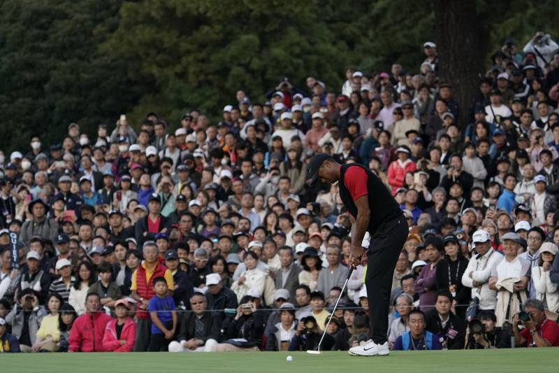 sam snead tiger woods