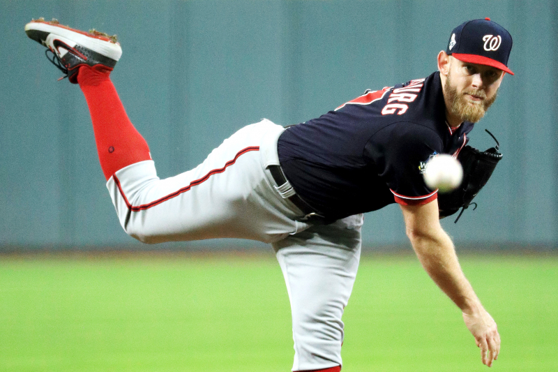 Nationals' Stephen Strasburg Says He Fixed Tipped Pitches During Game 6