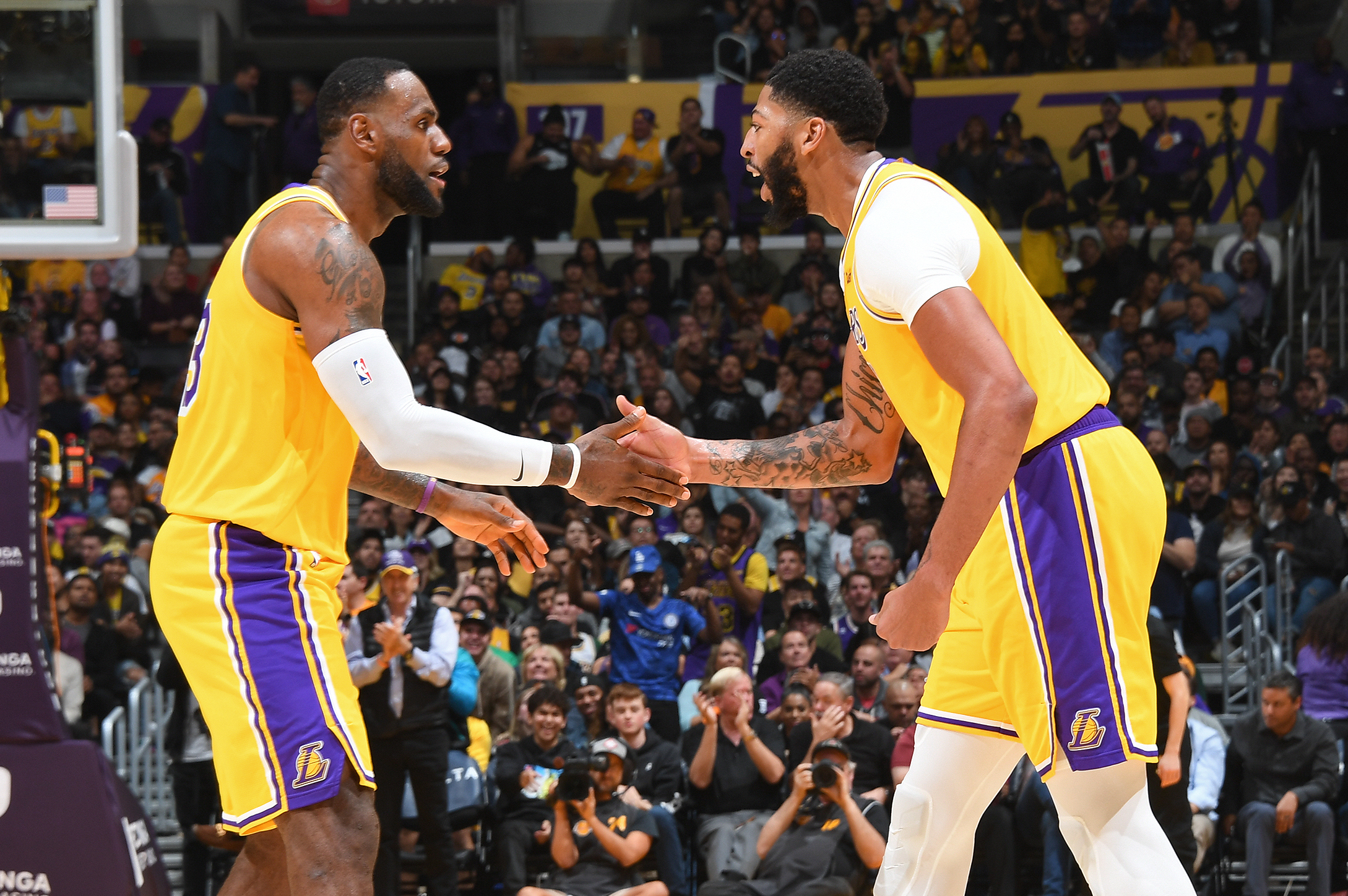 LeBron James Has Passed the Los Angeles Lakers' Torch to Anthony ...