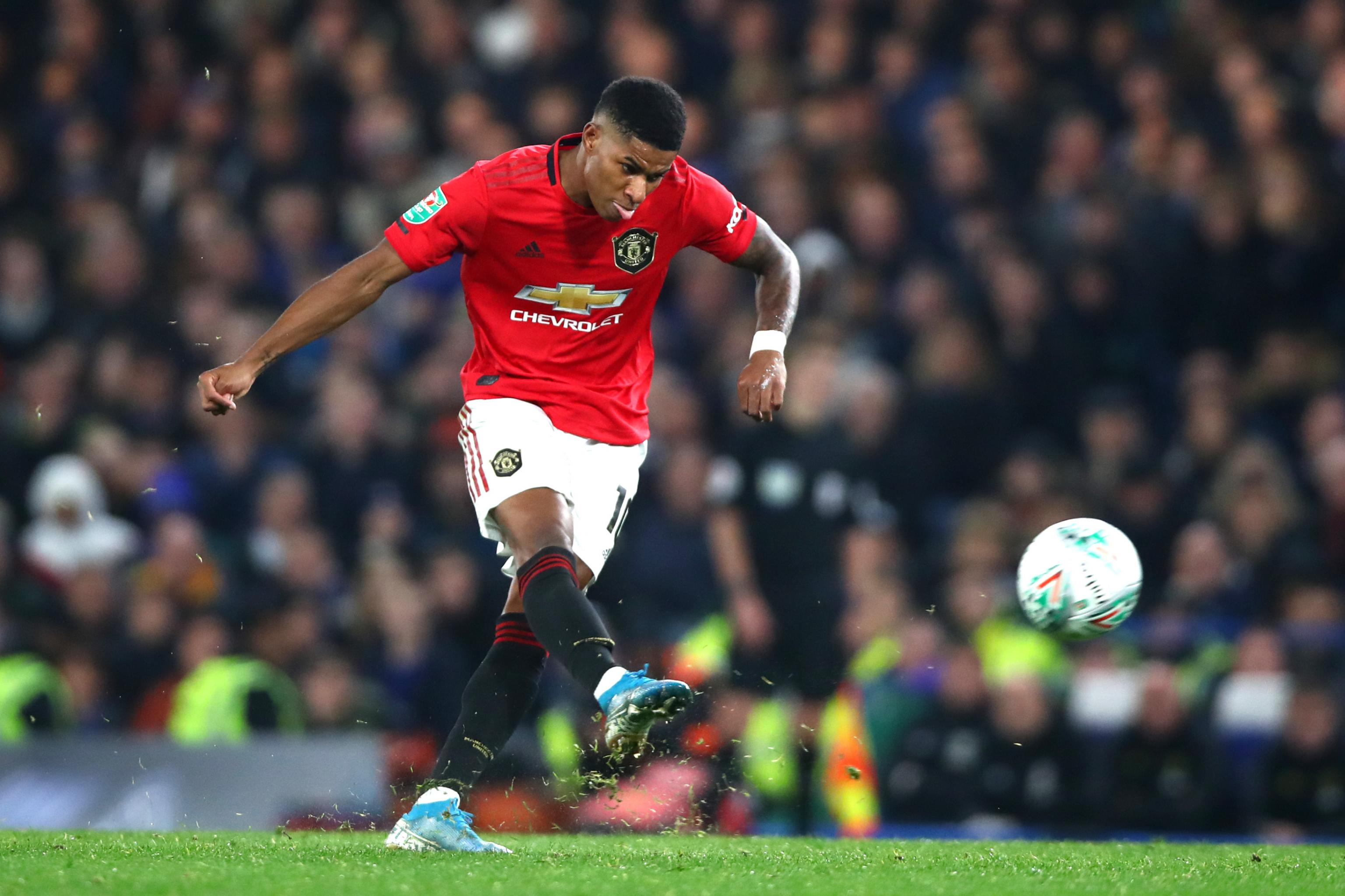 Marcus Rashford S Late Free Kick Leads Manchester United Past Chelsea In Efl Cup Bleacher Report Latest News Videos And Highlights