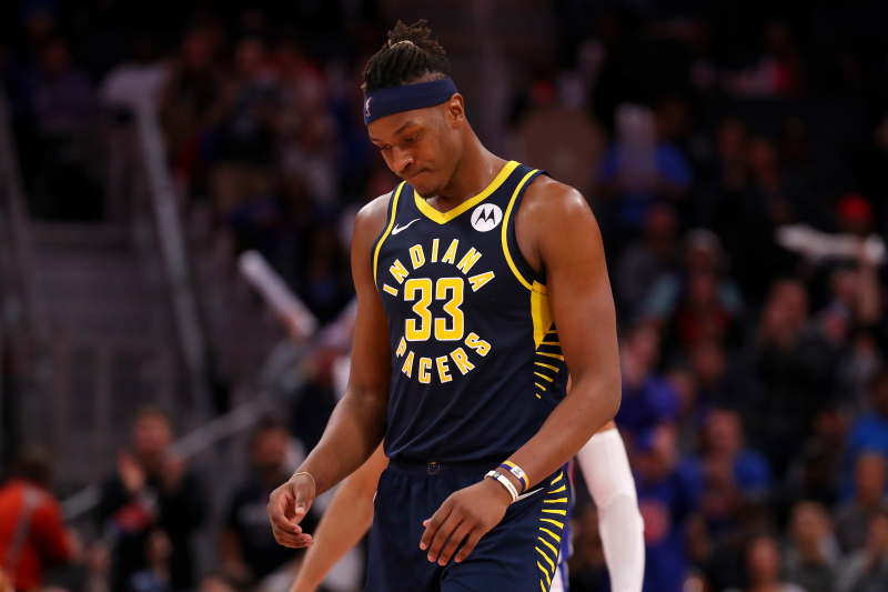 Myles Turner Won't Play for Pacers vs. Trail Blazers Because of Illness