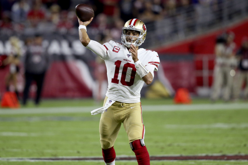 Jimmy Garoppolo, 49ers Top Kyler Murray's Cardinals 28-25 to Remain Undefeated
