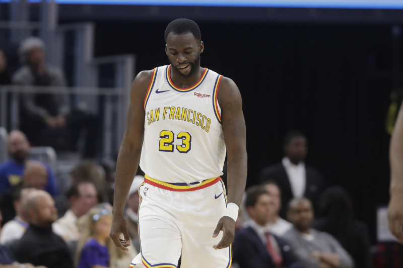 Warriors' Draymond Green out vs. Hornets with Finger Injury