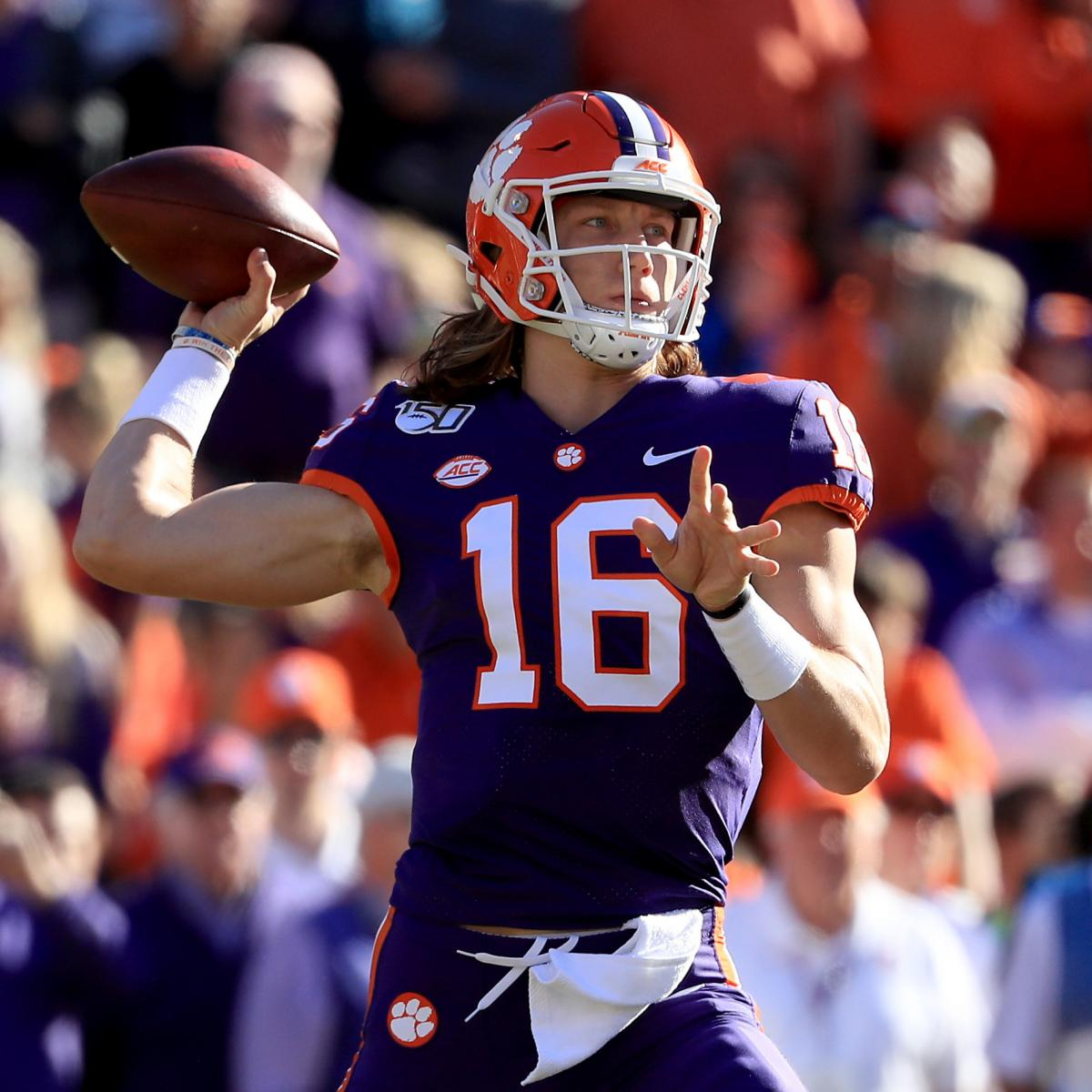Trevor Lawrence, No. 4 Clemson Rout Wofford Behind Travis ...