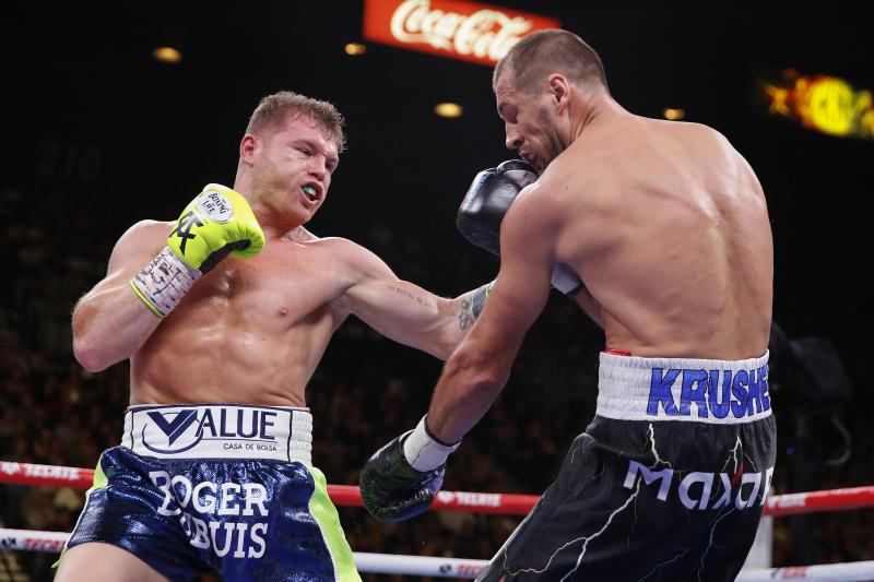 Canelo Alvarez Beats Sergey Kovalev Via 11th-Round Knockout to Win Title