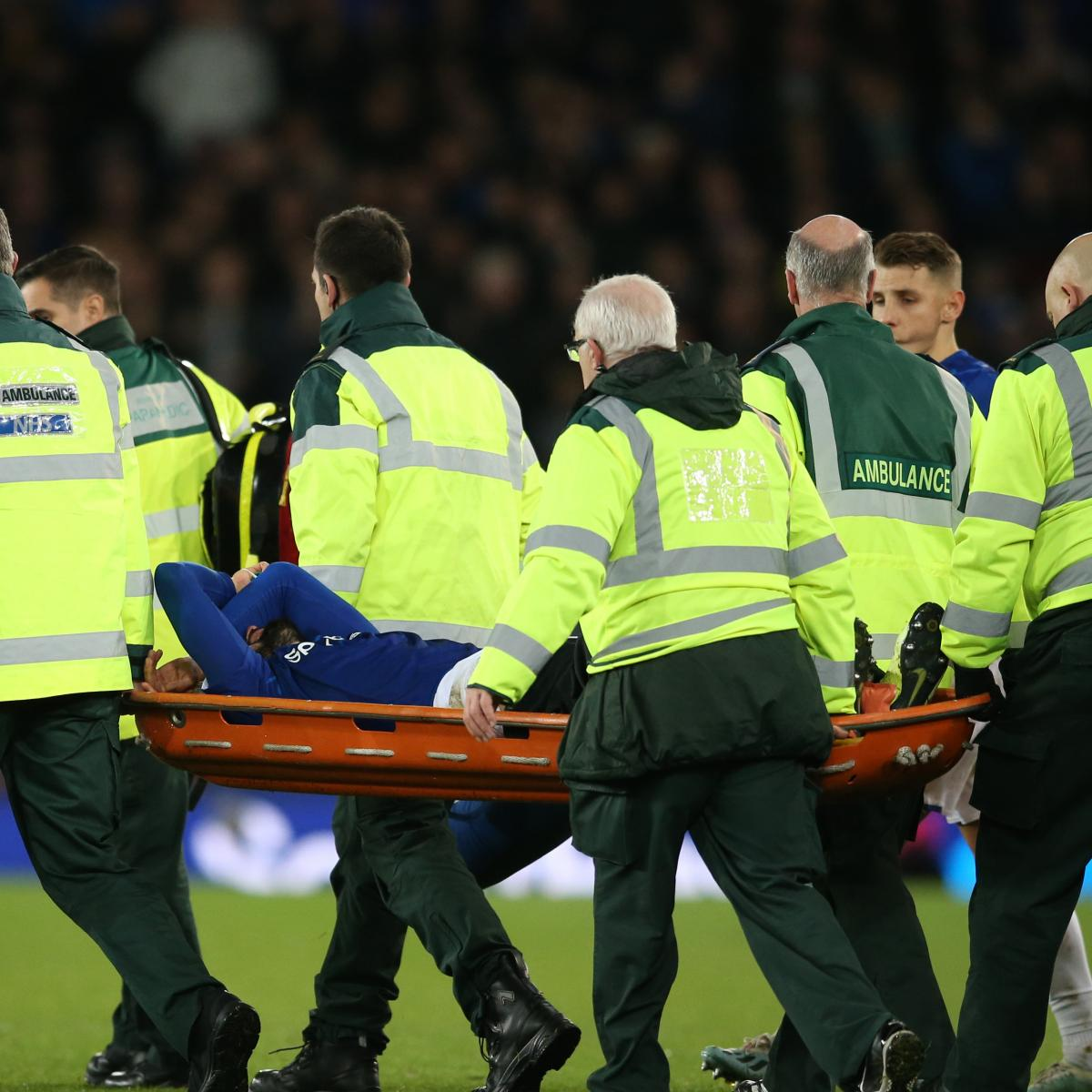 Everton's Andre Gomes Suffers Gruesome Leg Injury After