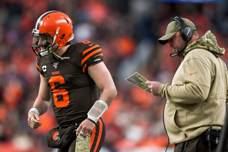 Freddie Kitchens Is in over His Head, and the Browns Are Drowning with Him