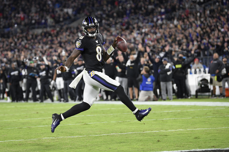 Lamar Jackson Proves Himself Against the Pats, Solidifies His MVP Credentials
