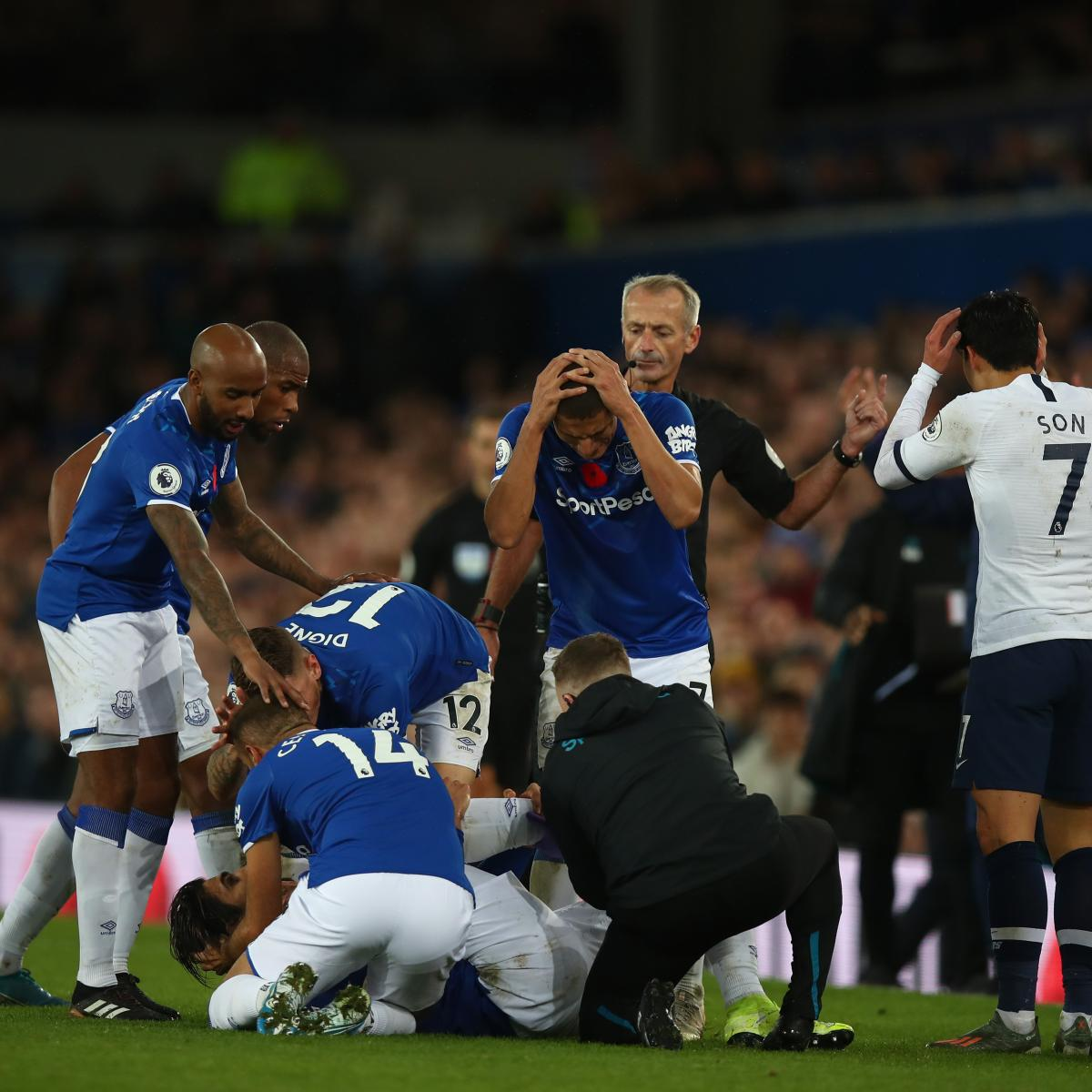 Heung-Min Son's Red Card For Andre Gomes Tackle Overturned