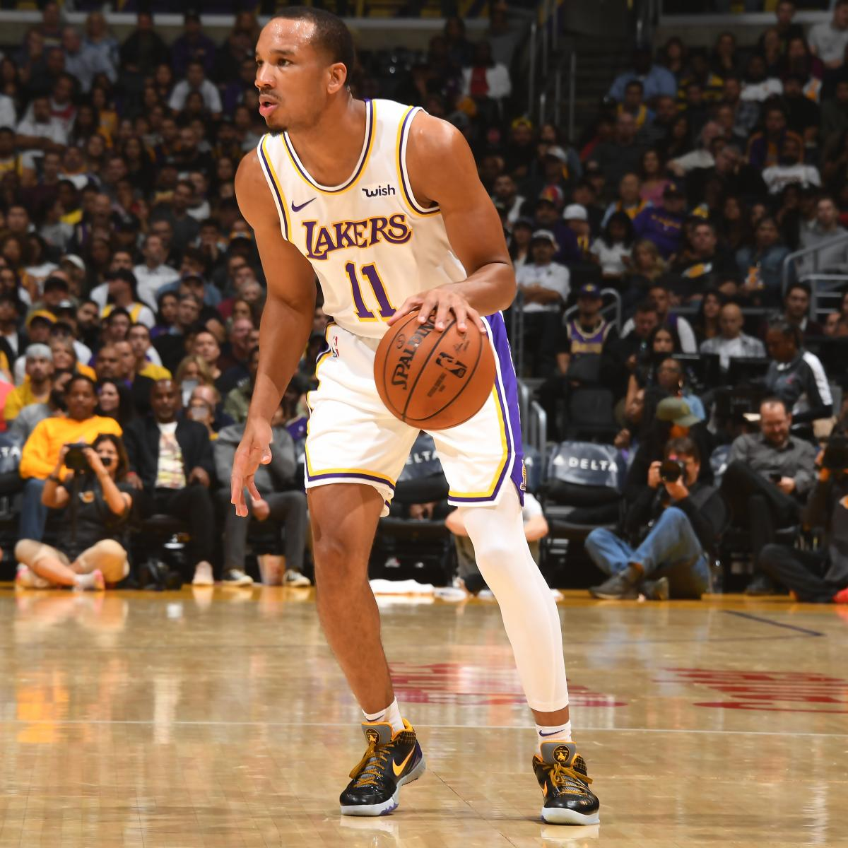 Lakers News: Avery Bradley to Be Re-Evaluated in 1-2 Weeks After Leg Injury