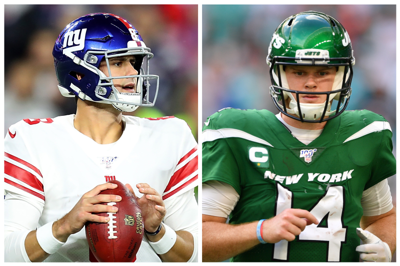 Can Daniel Jones Or Sam Darnold Become New York S Next Great