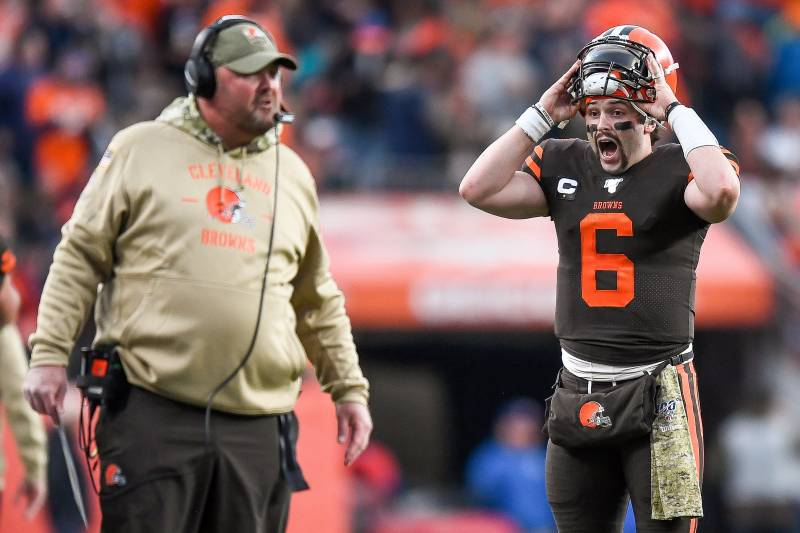 Freddie Kitchens On Baker Mayfields Numbers I Truly Dont