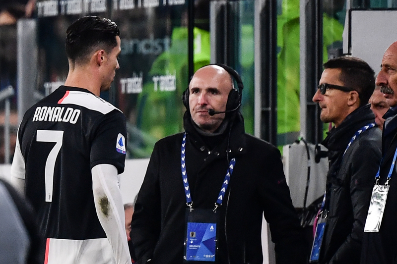 Report: Cristiano Ronaldo Left Juventus Stadium After Substitution vs. Milan