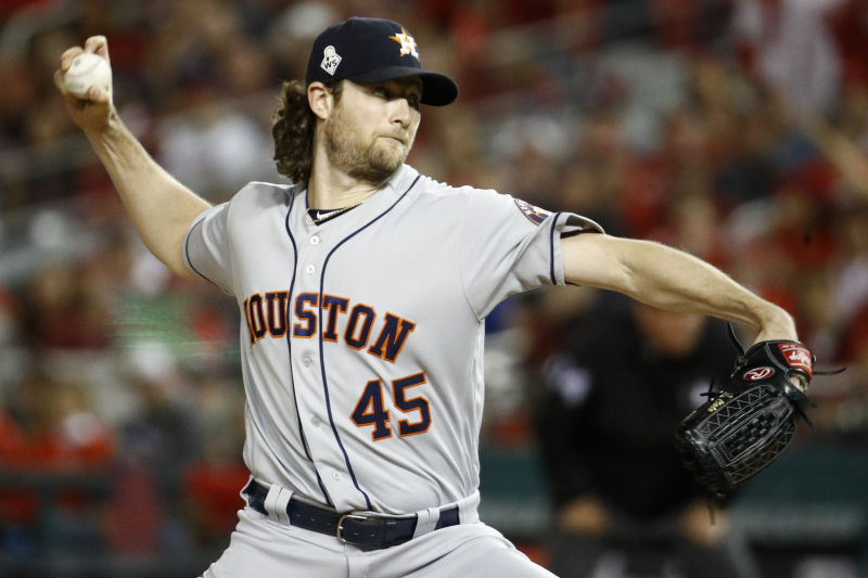 Gerrit Cole Rumors: Astros FA 'At the Top' of Phillies' List in 2019 Free Agency