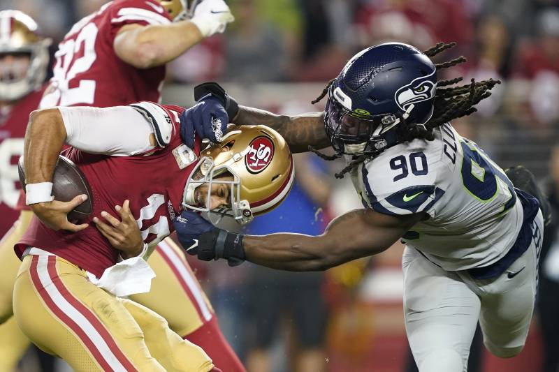 Unbeaten No More 49ers Loss Pushes The Nfc Race Wide Open