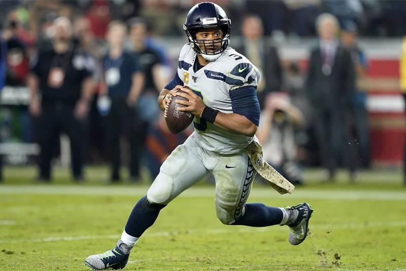 Resultado de imagen para Seahawks vs 49ers Russell Wilson