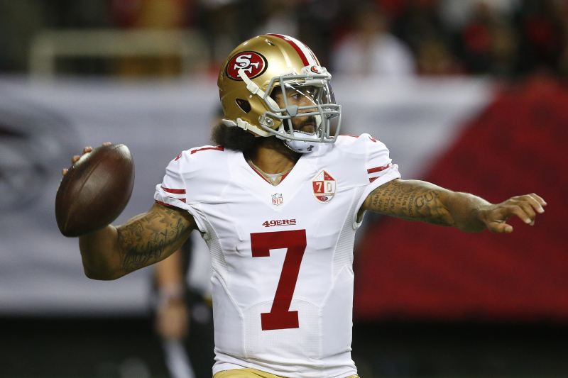 Report: NFL Team Exec Thinks Colin Kaepernick Is Being Scouted for Next Season