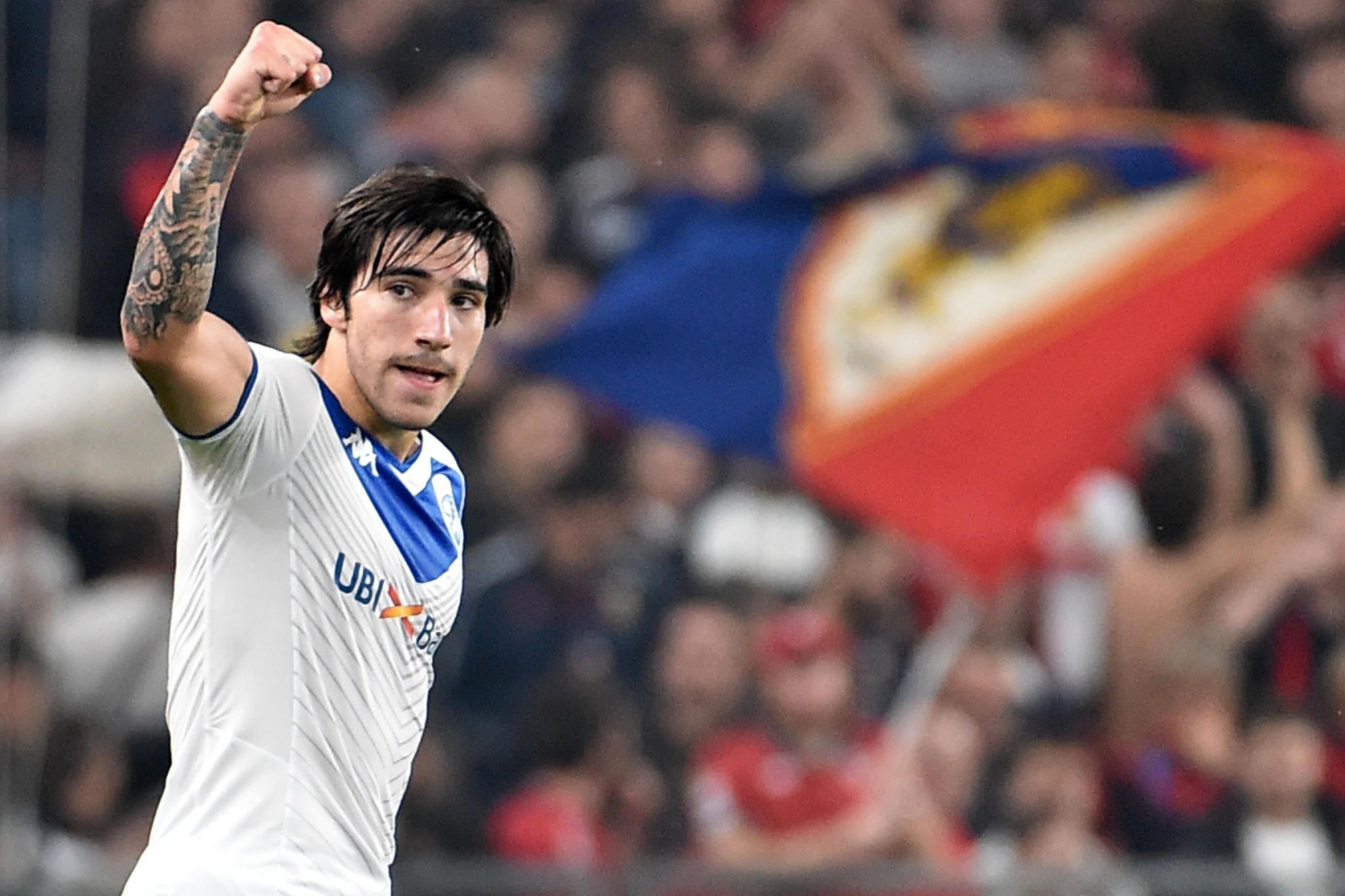 Brescia's Sandro Tonali Not Scared by €300M Price Tag Amid ...