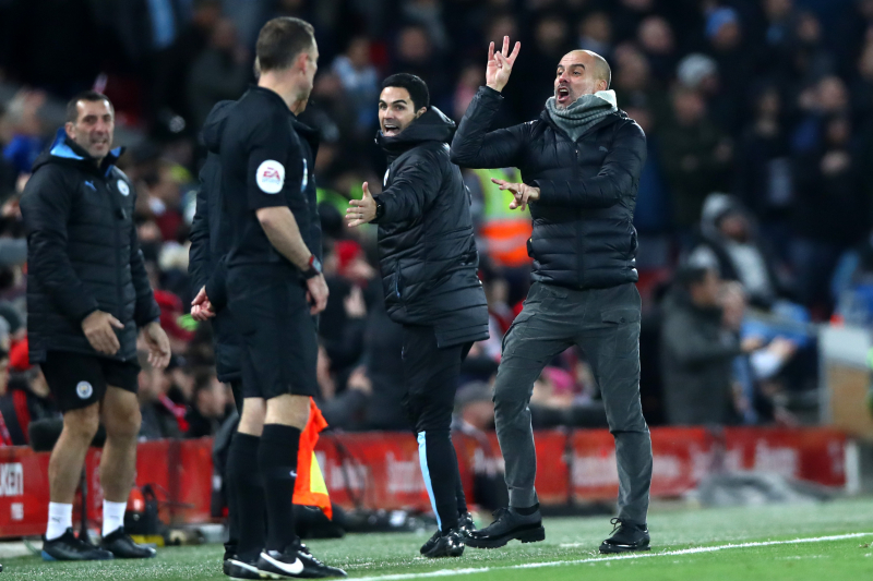 Report: Manchester City Write to Referee Chief Mike Riley over VAR Concerns