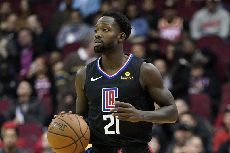 Clippers' Patrick Beverley Ruled Out After Suffering Concussion vs. Raptors