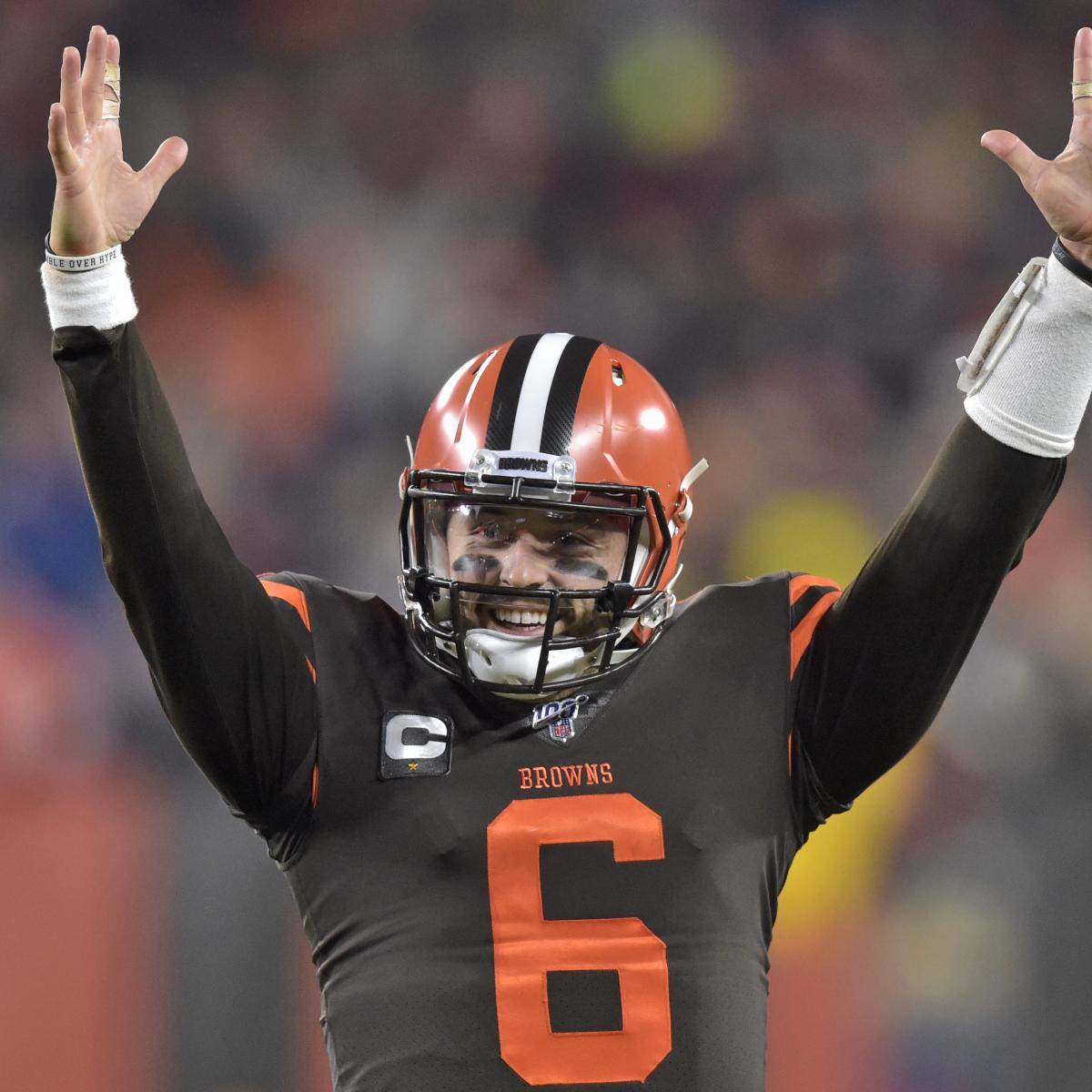 Baker Mayfield Throws 2 TDs as Browns Beat Steelers 21-7 for 2nd Straight Win