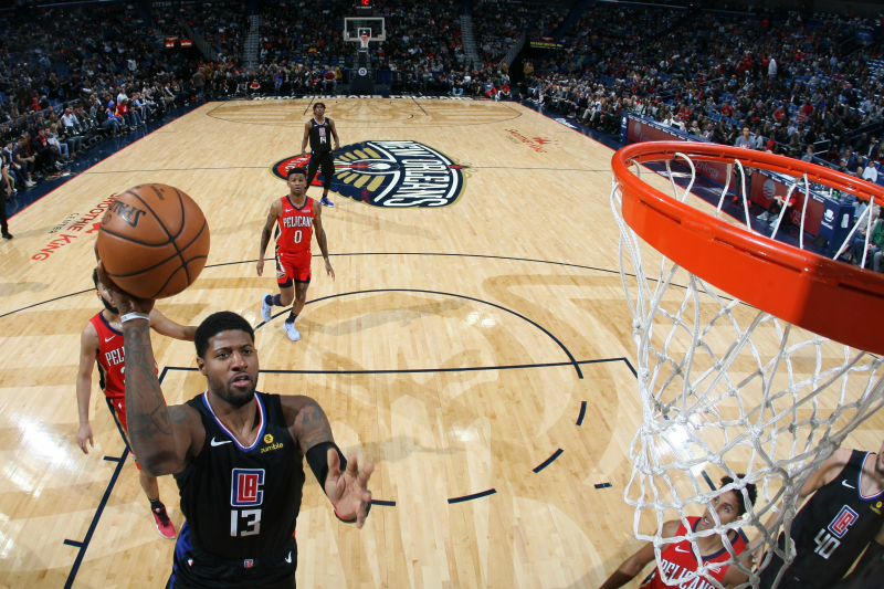 Paul George Drops 33 in Clippers Debut as LA Falls to Pelicans 132-127