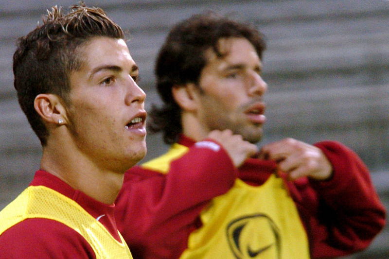 Louis Saha: Ruud van Nistelrooy Made Cristiano Ronaldo Cry at Manchester United