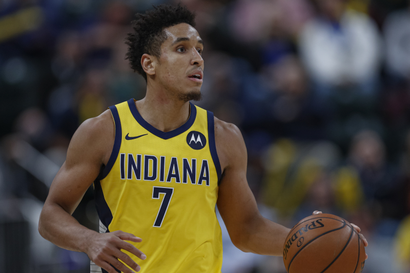 Pacers' Malcolm Brogdon Ruled out After Suffering Back Injury vs. Rockets