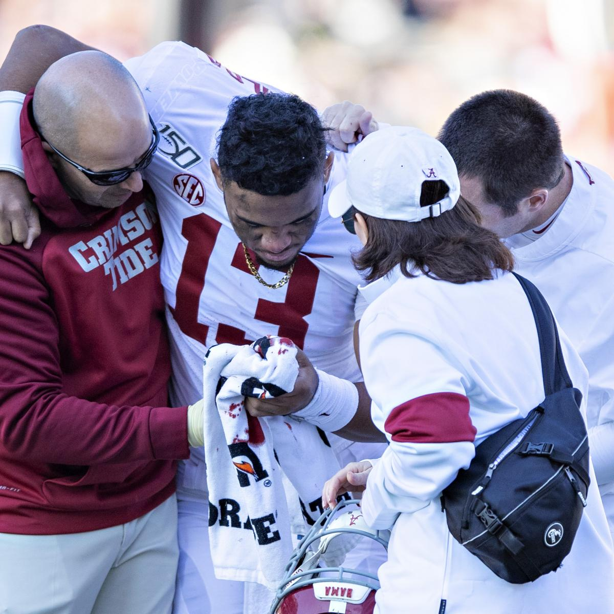 Report: Alabama's Tua Tagovailoa Hip Injury Diagnosed as Season-Ending Fracture