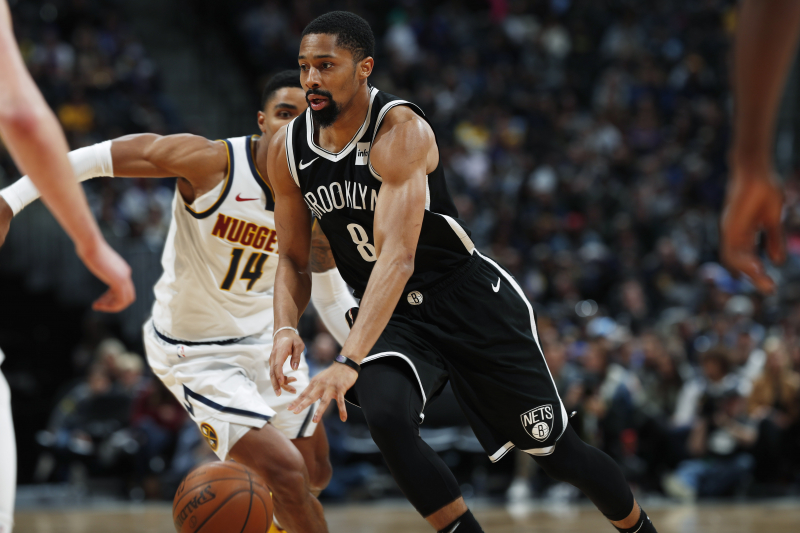 Nets' Spencer Dinwiddie's Fantasy Outlook After Kyrie Irving's Injury