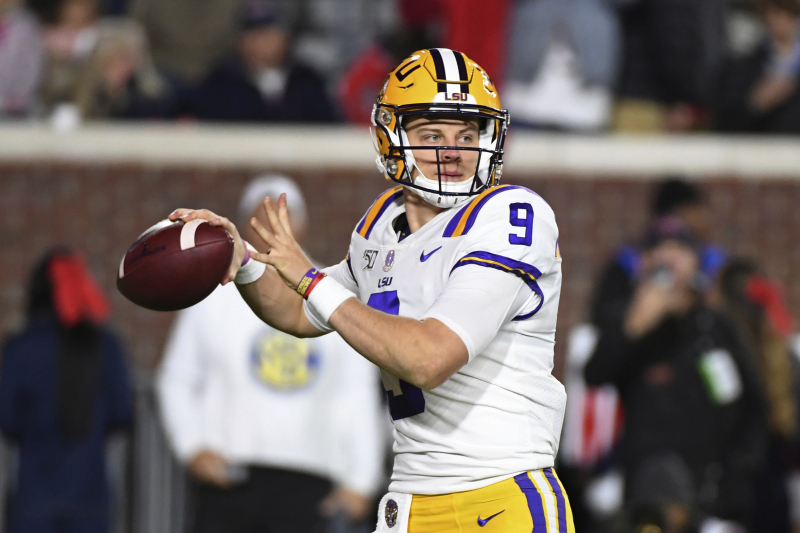 Joe Burrow, No. 1 LSU Defeat Ole Miss 58-37 to Keep Perfect Season Alive