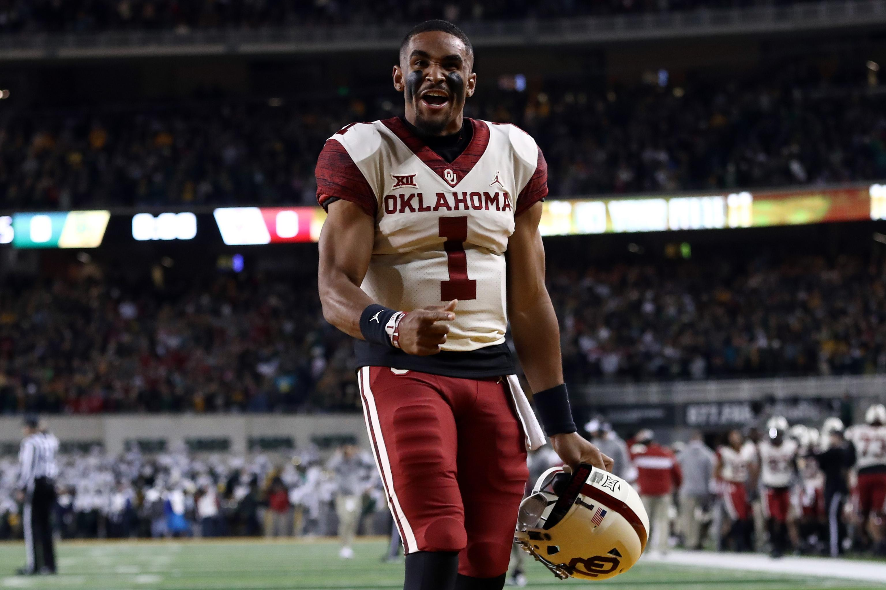 Jalen Hurts No 10 Oklahoma Stun No 13 Baylor With Historic 25 Point Comeback Bleacher Report Latest News Videos And Highlights