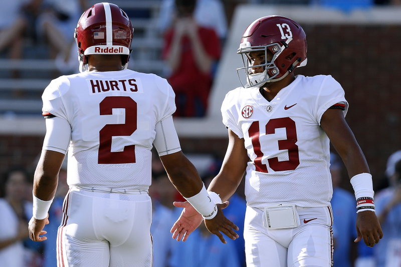 Ex-Alabama QB Jalen Hurts: It 'Hurt' to Hear About Tua Tagovailoa's Hip Injury