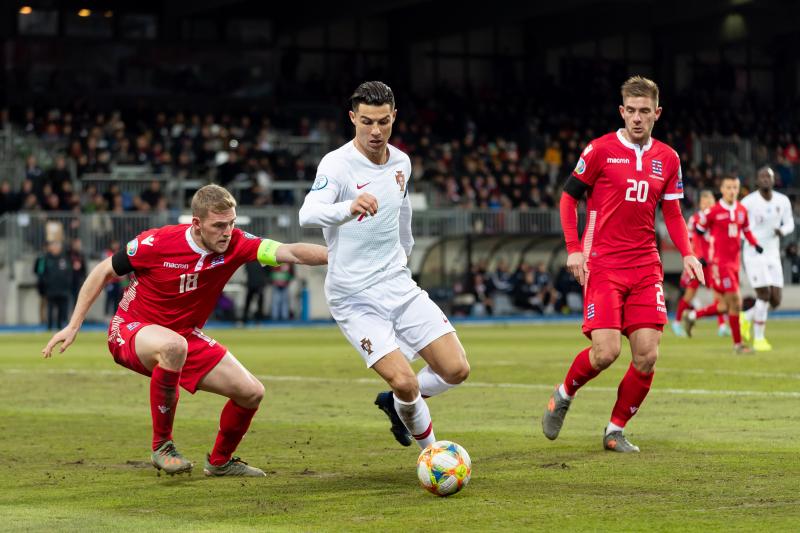 Cristiano Ronaldo, Portugal Beat Luxembourg 2-0 to Book Euro 2020 Spot