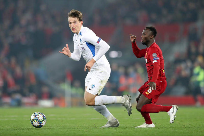 Genk's Sander Berge Says 'Playing at Anfield Is a Dream' Amid Liverpool Rumours