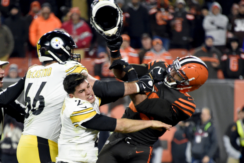 Glazer: Myles Garrett 'Remorseful' for Fight; Browns Shut Down Fox Interview
