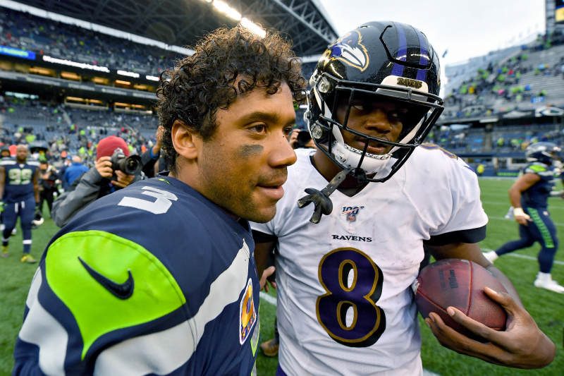 NFL MVP Is Officially a Two-Man Race Between Lamar Jackson and Russell Wilson