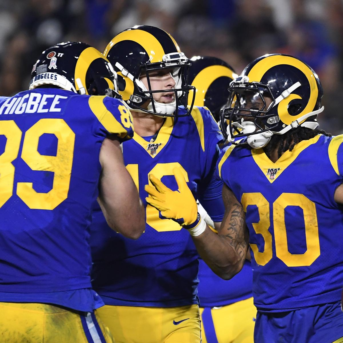 Todd Gurley, Rams Beat Bears as Jared Goff, Mitch Trubisky Both Struggle