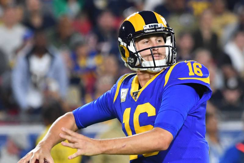 Rams Are In The Playoff Hunt But Jared Goff Is Holding Them