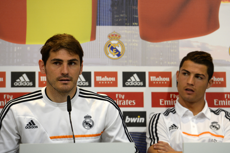 Iker Casillas Questions 'Logic' of Possible Cristiano Ronaldo Ballon d'Or Win