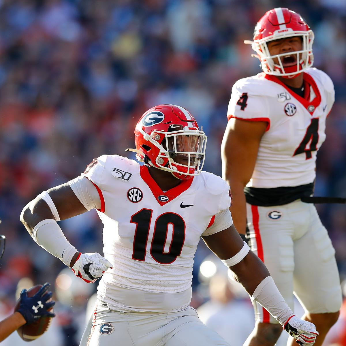NCAA Football Rankings 2019: Top Reaction to Week 13 ...