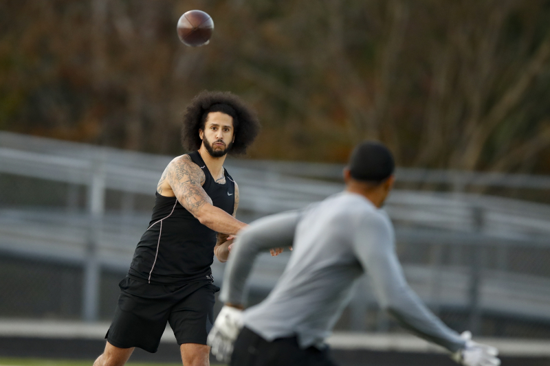 Report: Colin Kaepernick Workout Video and Letter Sent to All 32 NFL Teams