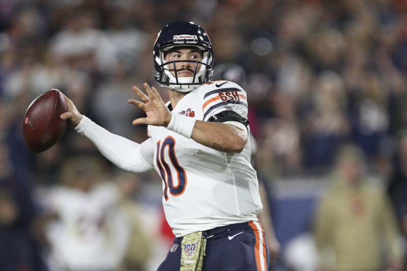 Bears' Matt Nagy Says Mitchell Trubisky Will Remain Starting QB After Hip Injury